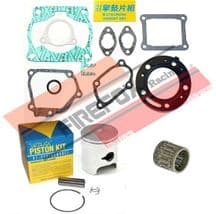 Honda CR125 1990 54mm Bore Mitaka Top End Rebuild Kit Inc Piston & Gasket